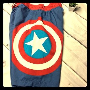 Marvel Captain America XL Trunks